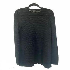 COS Sweden bubble Swiss dot long sleeve sweater XS